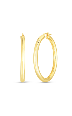 Perfect Gold Hoops's image