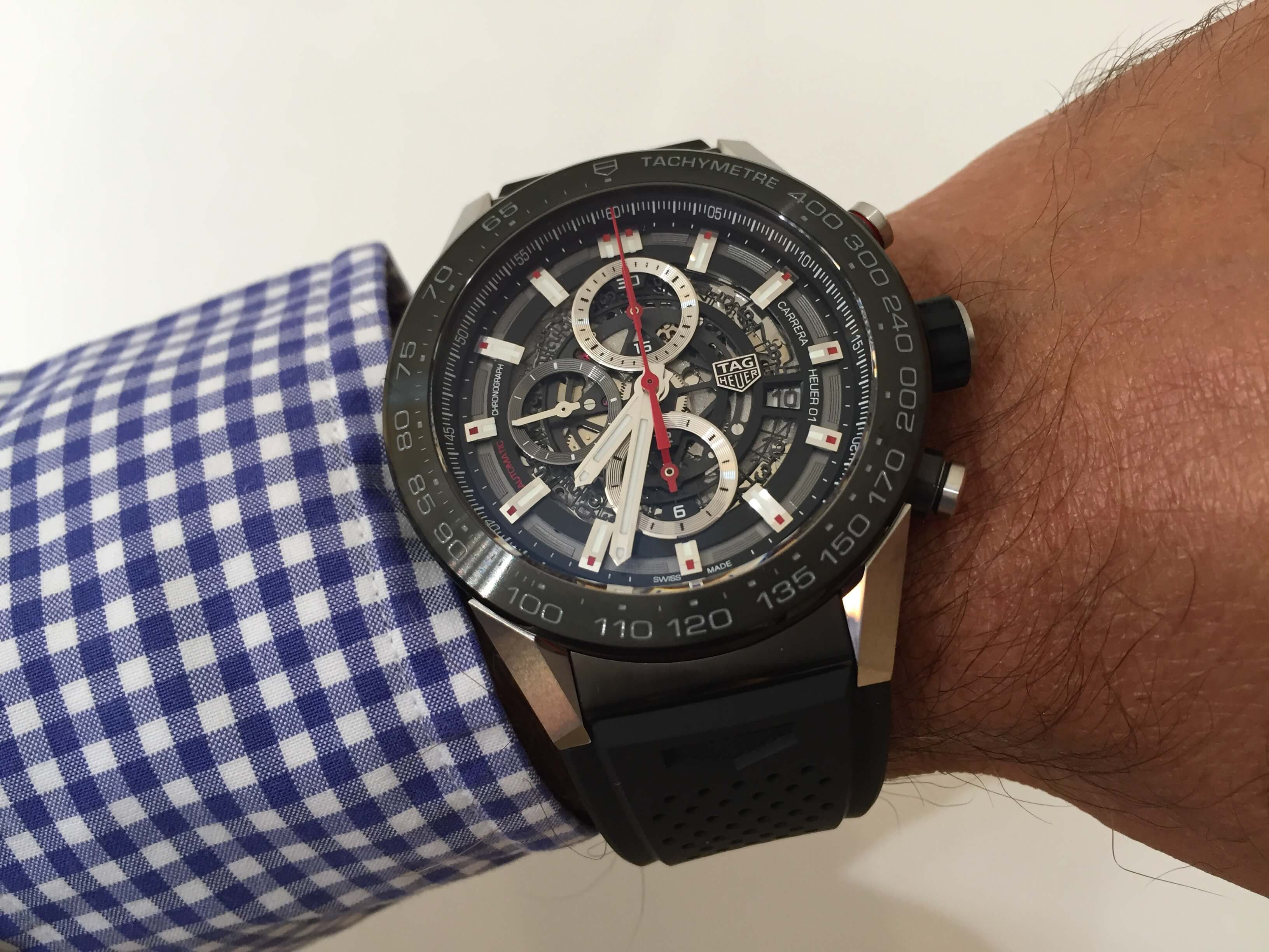 THE BRAND-NEW TAG HEUER CARRERA 01